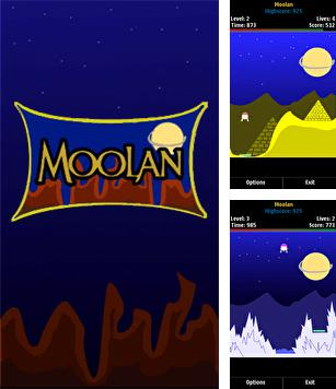 In addition to the sis game Asphalt 6 Adrenaline HD for Symbian phones, you can also download Moolan for free.