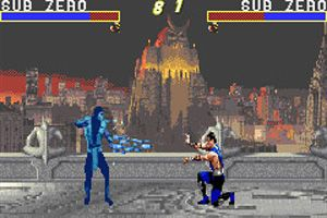 Mortal Kombat  - Symbian-Spiel Screenshots. Spielszene Mortal Kombat Advance.