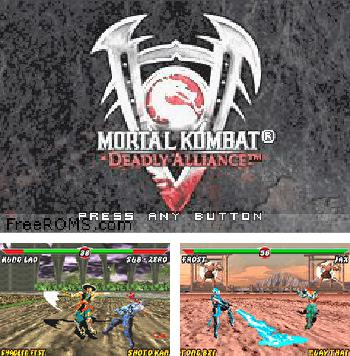 In addition to the sis game Super Mario Bros for Symbian phones, you can also download Mortal Kombat: Deadly Alliance for free.