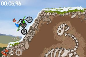 Moto X Mayhem - Symbian game screenshots. Gameplay Moto X Mayhem.