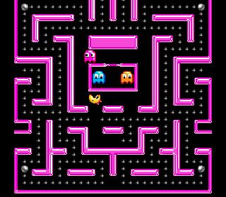 Ms. Pac-man - Symbian game screenshots. Gameplay Ms. Pac-man.