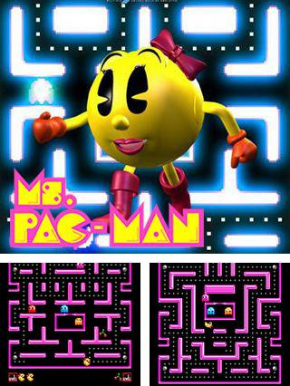 In addition to the sis game SpongeBob SquarePants and Friends Unite! for Symbian phones, you can also download Ms. Pac-man for free.
