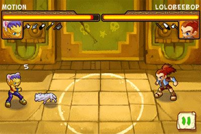 Road Rash 3 - Symbian-Spiel Screenshots. Spielszene Road rash 3.