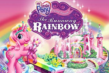 My little pony. Crystal princess: The runaway rainbow