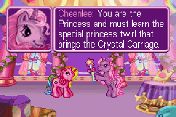 My little pony. Crystal princess: The runaway rainbow download free Symbian game. Daily updates with the best sis games.