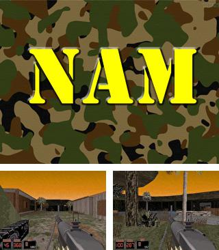 In addition to the sis game Cosmic spacehead for Symbian phones, you can also download NAM (Nuke Dukem Mod) for free.