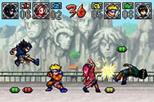 Naruto: Ninja Council 2 - Symbian game screenshots. Gameplay Naruto: Ninja Council 2.