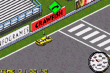 NASCAR: Heat 2002 - Symbian game screenshots. Gameplay NASCAR: Heat 2002.