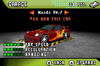 Need for speed: Underground 2 GBA - Symbian game. Need for speed