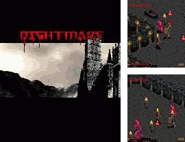 In addition to the sis game Toonwarz for Symbian phones, you can also download Nightmare for free.