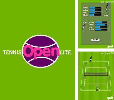 In addition to the sis game TouchDowns for Symbian phones, you can also download Open Tennis Lite for free.