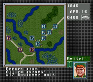 Operation Europa: Der Weg zum Sieg 1939-45 - Symbian-Spiel Screenshots. Spielszene Operation Europe: Path to victory 1939-45.