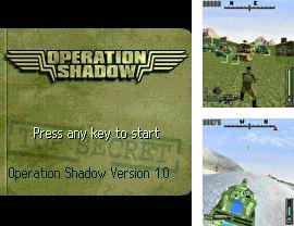 In addition to the sis game F-117 night storm for Symbian phones, you can also download Operation Shadow for free.