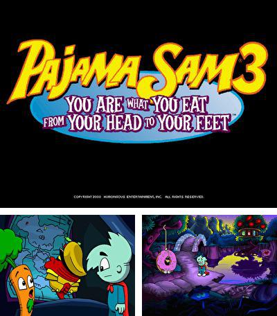 Zusätzlich zum sis-Spiel Stealth für Symbian-Telefone können Sie auch kostenlos Pajama Sam 3: Du bist was du isst - vom Kopf bis zur Sohle, Pajama Sam 3 You Are What You Eat From Your Head to Your Feet herunterladen.