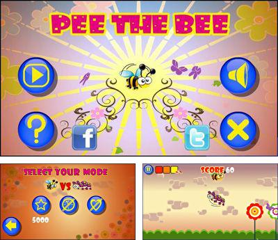 In addition to the sis game Fighter Pilot The Pacific War for Symbian phones, you can also download Pee The Bee for free.