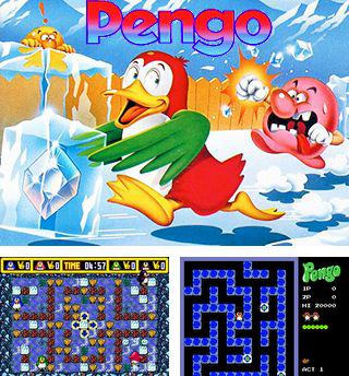 In addition to the sis game Super Mario Bros for Symbian phones, you can also download Pengo for free.