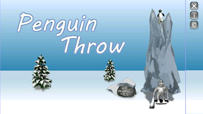 Penguin Throw