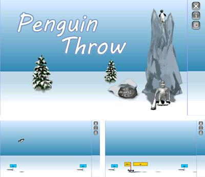 In addition to the sis game Princess Natasha: Student, secret agent, princess for Symbian phones, you can also download Penguin Throw for free.