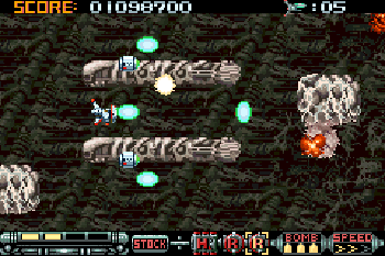 Phalanx: The enforce fighter A-144 - Symbian game screenshots. Gameplay Phalanx: The enforce fighter A-144.