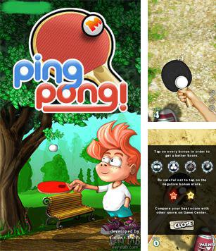 In addition to the sis game Tomb raider legend for Symbian phones, you can also download Ping Pong for free.
