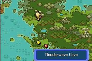 Pokemon Mysteriöses Labyrinth: Rotes Rettungsteam - Symbian-Spiel Screenshots. Spielszene Pokemon Mystery Dungeon Red Rescue Team.