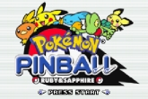 Pokemon Pinball Ruby & Sapphire free download. Pokemon Pinball Ruby & Sapphire. Download full Symbian version for mobile phones.