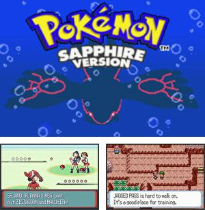 In addition to the sis game The Road Blasters for Symbian phones, you can also download Pokemon: Sapphire Version for free.