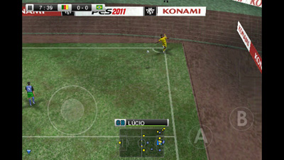 Pro Evolution Soccer 2011 - Symbian game screenshots. Gameplay Pro Evolution Soccer 2011.