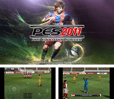 In addition to the sis game World series baseball for Symbian phones, you can also download Pro Evolution Soccer 2011 for free.