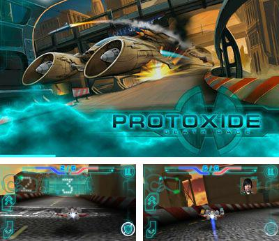 In addition to the sis game Kick off 3: European challenge for Symbian phones, you can also download Protoxide Death Race for free.