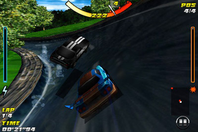 Asfalto 4 Corridas de Elite HD  - Screenshots do jogo para Symbian. Jogabilidade do Asphalt 4 elite racing HD.