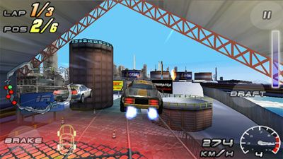Play Raging Thunder 2 for Symbian. Download top sis games for free.