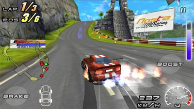 raging thunder 2 motion sensor game for nokia 5233