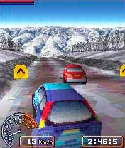 Le Tournoi de Rally Pro - Écrans du jeu Symbian. Gameplay Rally Pro Contest.