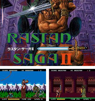 In addition to the sis game The Hoops for Symbian phones, you can also download Rastan saga 2 for free.