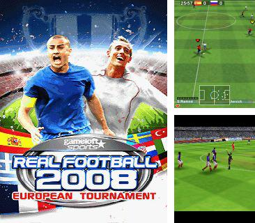 In addition to the sis game Terminator 2: The arcade game for Symbian phones, you can also download Real Football 2008 European Tournament for free.