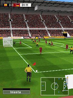 Play Real football 2009 3D for Symbian. Download top sis games for free.