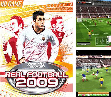 In addition to the sis game Anrufen for Symbian phones, you can also download Real football 2009 3D for free.