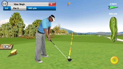 Real Golf 2011 - Symbian game screenshots. Gameplay Real Golf 2011.