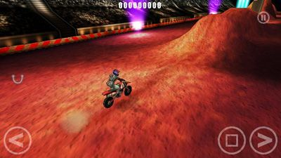 Red Bull X-Kämpfer - Symbian-Spiel Screenshots. Spielszene Red Bull X-Fighters.