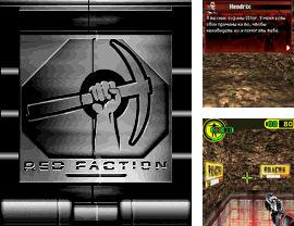 In addition to the sis game Real football 2009 3D for Symbian phones, you can also download Red Faction for free.