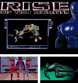 In addition to the sis game Double dribble: The playoff edition for Symbian phones, you can also download Rise of the robots for free.
