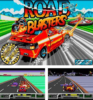 In addition to the sis game The Rocketeer for Symbian phones, you can also download Road blasters for free.