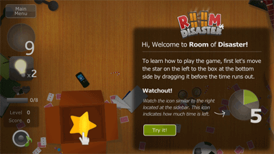 Play Room of Disaster for Symbian. Download top sis games for free.