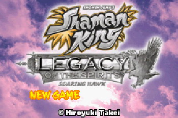 Shaman King Legacy of the Spirits