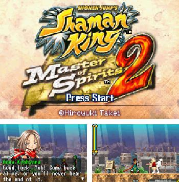 In addition to the sis game Antarctic Adventure for Symbian phones, you can also download Shaman King: Master of Spirits 2 for free.