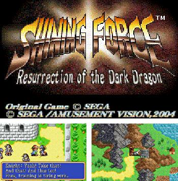 In addition to the sis game Metal Slug: Resistance for Symbian phones, you can also download Shining Force Resurrection of the Dark for free.