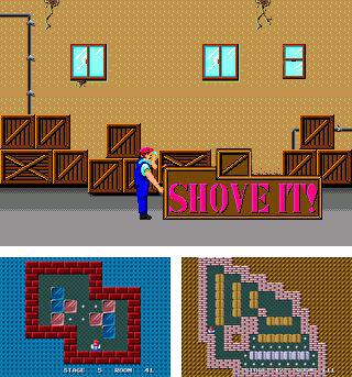 Shove it! The warehouse game