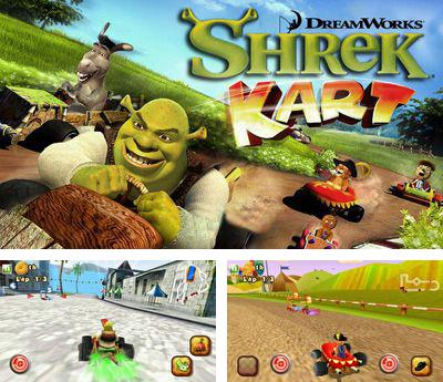 shrek kart hd-nokia s60v5 game