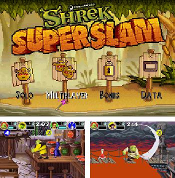 In addition to the sis game Shadow of the Beast 2 for Symbian phones, you can also download Shrek: Super Slam for free.